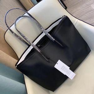 أزياء المرأة الجديدة حقيبة زلابية LACO سيدة حقيبة يد بلون قدرة كبيرة PVC حقيبة تسوق حقيبة الإناث