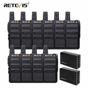 RETEVIS RT619 Mini PMR Walkie Talkie 10 pcs carregador de parede + 5-Port USB 2pcs portátil de duas vias Walkie Talkie Hotel / Restaurante