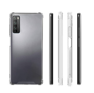 Прозрачный прозрачный акриловый жесткий чехол для Huawei Y5 Y5P Y6 Y6S Y6P Y7 Y7P Y8P Y8S Y9A Y9 Prime Y9s P Умный P10 P10 P30 P40 Mate20 30 Lite Pro
