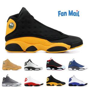 zapatos de baloncesto baratos Jumpman 13 Una mala jugada inversa casquillo púrpura Corte Runner y vestido 13s Bred deporte zapatilla de deporte trianers
