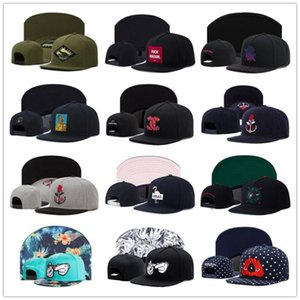 2020 Sıcak Satış Hızlı top Hoed Voor Mannen Vrouwen Volwassen Açık Casual Zon Beyzbol şapkası Kemik Cap Hiphop Snapback