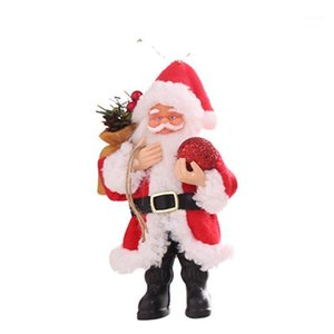 Papai Noel boneca brinquedo árvore de natal pingente ornamentos de natal decoração de casa diy1
