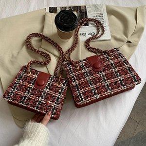 TRESME Casual dames Coréen Epaulet Pack Mode Femme Messenger Sacs Femme Chaîne Sac à main Voyage Nouveau Sac fourre-tout simple Vintage simple