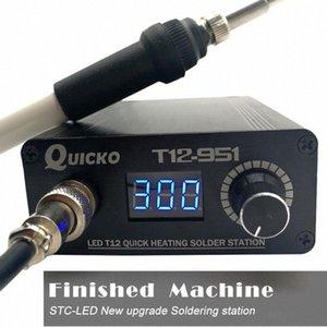 Schnell Heizung T12 Lötstation elektronische Schweißen Eisen Digitale Lötkolben-Station Kit Temperaturregler g66R #