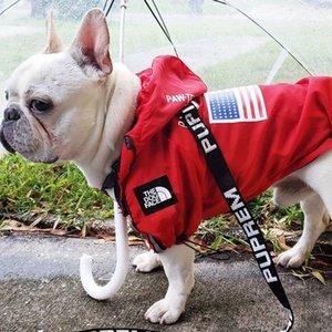 Mode Haustier Hund Regenmantel für Hundekleidung Wasserdichte französische Bulldogge Kleidung für Hund Regenbekleidung Hoodie Atmungsaktive Welpen Haustier Kleidung 201028