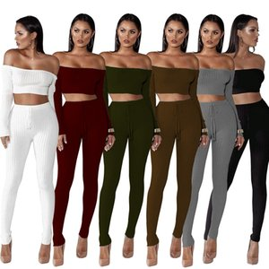 women tracksuit jumpsuits 6 colors women clothing 2 piece set joggers gymshark womens clothes Women Two Piece Outfits survêtement femme