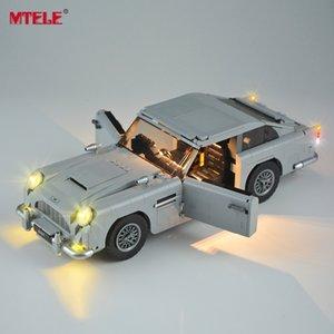 MTELE LED Kiti 10262 Yaratıcı Jame Bond Aston Marting Işık Seti 21046 ile Uyumlu (Model dahil değil) LJ200925