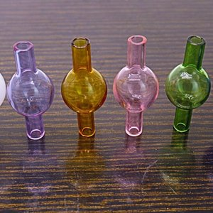 Glass Banger Carb Cap For XL XXL Thermal Banger Nails Enail Glass Bong Pipe OD 20mm Colorful Also Sell Nail OWE2099