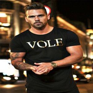 Muscle Fitness Brother T-Shirt manica corta uomo traspirante Europeo e americano sport Trend Street Fashion Culture Fabbricazione