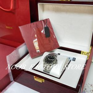 U1 Factory New Black Mens Movimiento automático de 40 mm Reloj Classic 5711 Relojes Transparent Back WristWatches Nueva caja original