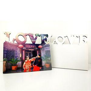 Wood White Photo Frame Sublimation Blanks MDF Pictures Frames Square Living Room Decoration Painting Bracket 9 8bd G2