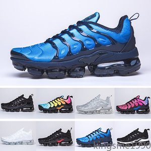 Free Shipping New 2019 Mens Shoe Sneakers TN Plus Breathable Air Cusion Desingers Casual Running Shoes New Arrival Color US5.5-11 HHEH0P