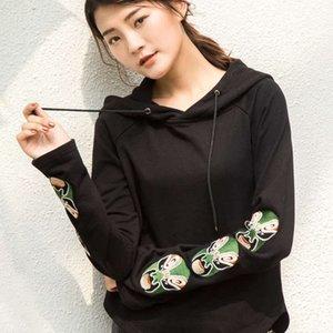 Осенью и зимняя новая женская конструкция ощущение китайского стиля Пекин оперный макияж для лица свитер Чисто хлопчатобумажное пальто