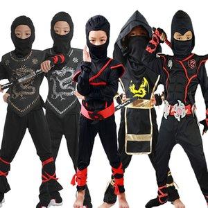 The new Halloween cosplay cartoon costumes children perform naruto clothing samurai clothing ninja clothing