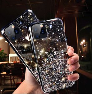 fashion Glitter Sequins coque iphone 12 pro max phone cases soft silicone cover iphone 12 11 x xr xs max 7 8 coque iphone 12 mini
