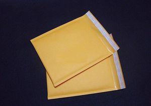 Toptan-10 adet 130 * 130 + 40 MM Küçük Kraft Kabarcık Çanta Yastıklı Zarflar Postacılar Nakliye Mailling Mail Çantaları Jlzzmm Yummy_Shop