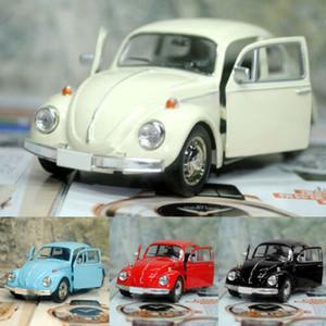 Regalo di visualizzazione Convenienza Retro Beetle Die-casting tirare indietro auto giocattolo per bambini modello