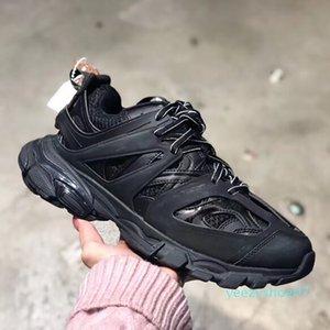 Мужчины Женщины кроссовки Трек 3,0 Hot Sale дышащий Кроссовки Повседневный Платформа Узелок обувь Пара Открытый Sneaker Оптовая y07