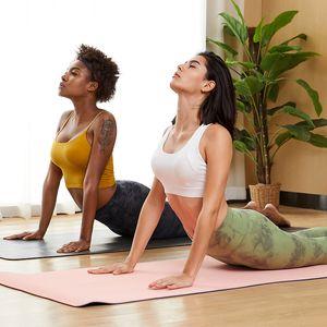 Fitness base double-sided single grinding sports bra, cross beautiful back shockproof and high-intensity sports underwear women