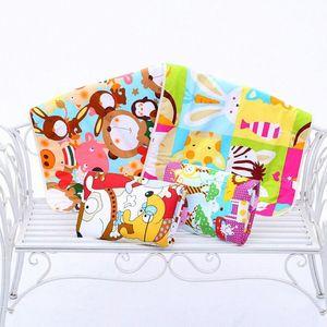 Детские Изменение Pad 3-слойный лист Моча Pad мультфильм печатных Младенческая водонепроницаемый матрас Мат Пеленки хлопок подгузников кровать случайный цвет bhnG #