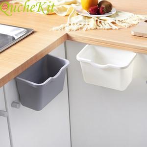 Kitchen storage room   124; cabinet door, hanging garbage can, garbage can, kitchen cabinet, hanging shelf, food storage organization