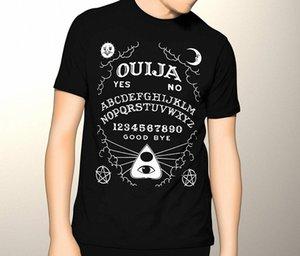 Oculto, Ouija, gráfico T camisa de la manera camisetas de algodón camisetas frescas divertido gráfico T Shirts X0QT #