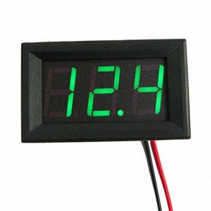 3 colore 2 fili digitale tester di tensione universale Mini DC 4.0 / 4.5 / 4.7 Pannello ~ 30V LED display LED Digital Voltage Meter voltmetro XjYi #
