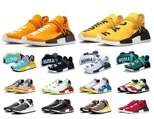 İnsan Koşu Williams Krem Şehir Sneakers Eşitlik Bayan Ruh Yarışları Ayakkabı Erkek Nefes Nerd Pharrell Anne Meksika R1