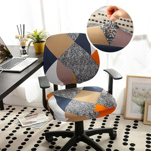 YanYangTian Elastic Chair Cover Computer Chair Cover with Back Office Chairs Gamer Modern Circular Removeable