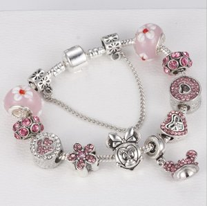 European and American Cartoon Kingdom Princess Bracelet Pink Princess Dream Bracelet
