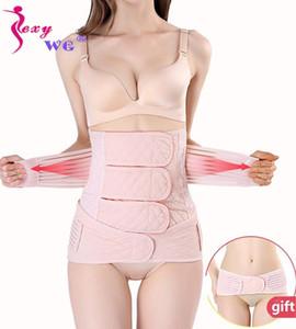SEXYWG Slim taille Trainer 2 en 1 Abdomen Pelvis Ceinture Femmes Grossesse Corset postpartum Recovery Bandage Body Shaper Back Support