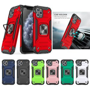 Luxury Armor Magentic Ring Phone Case For iPhone 12 Pro Max 11 pro Max XS XR X 6 6S 7 8 Plus SE
