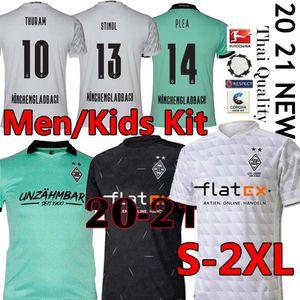 Männer Kinder 20 21 MÖNCHENGLADBACH Fußball jersey120th Jahrestag Gladbach 2020 2021 Mönchengladbach Thuram LAINER PLEA Borussia Fußball-Trikot