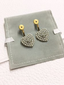 Fashion brand Have stamps LOVE designer earrings for lady women Party wedding lovers gift engagement luxury jewelry With BOX HB0418