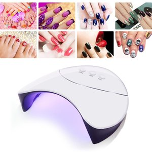 36W USB Rechargeable LED UV Nail Gel Curing Lamp Automatic Induction Light Nail Gel Polish Dryer Nail Art Machine FR ShippingRab