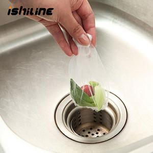 100 pz / lotto Cucina Lavello Lavello Organizzatore Lavello della lavandino Borsa da filtro perdente Portatile Filtro perdite Garbage Sacchetto di stoccaggio Forniture da cucina