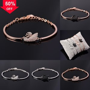 TDO3X tornado 925 sterling silver baseball Sports Energy bracelet stone OEM Necklaces Healthy Titanium Braid rope necklace Swarovsk swan