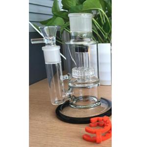 Abnehmbarer PERC Rauchen Zubehör Big Glasigbecherbongs Montieren Sie sich für Hakens Shisha-Recycler mit Stereo-Matrix-Öl-Righs Solid Base