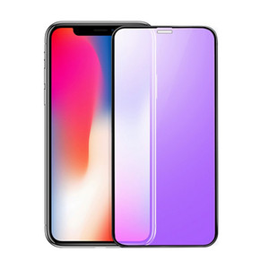 Anti Blue Light Tempered Glass For Iphone 12 11 Pro Max XR XS Full Cover Screen Protector For Samsung A60 A70 A70s 10PCS in 1 Retail Package