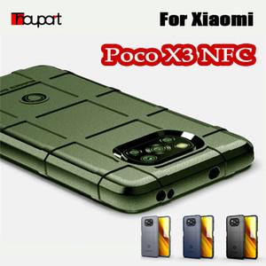 Caso rugoso Escudo del silicio para Xiaomi Poco X3 NFC versión global Militar Pesado Protect cubierta del teléfono Poco X3 Caso a prueba de golpes