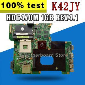 K42JY Motherboard Rev4.1 HD6470M 1 Go pour Asus X42J A42J K42JY Portable Portable Test de la carte mère 100% OK