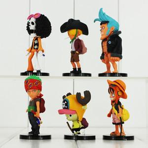 2 Stilleri Anime One Piece PVC Action Figure Koleksiyon Model Oyuncaklar Çocuklar Için Hediye Ücretsiz Kargo Perakende