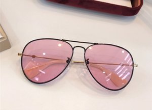 New Luxury Designer Sunglasses Fashion Pilot Frame Glasses Retro Trend Style Candy color lens Eyewear UV400 Protection With Box