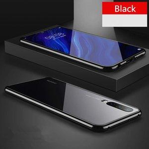 Новый Магнитный поглощение Металлический корпус для Huawei P20 P20PRO P20LITE Телефон Задняя крышка Двустороннее стекло Huaweip20 Pro Lite Bag H Jllquh