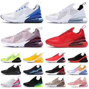 stock x max 270 off white airmax 270s fashion 2020 TOP QUALITY mens womens running shoes new Spirit Teal Volt University Red triple white black designer sneakers trainers