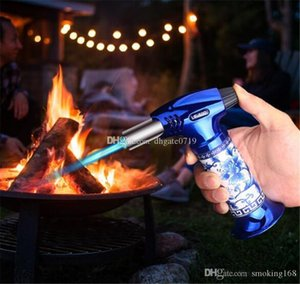 Ceramic body DAB Jet Torch Lighter Chef Blowtorch Jet Flame Torch lighters Kitchen Cooking Soldering Brazing Butane Torch ignition tool