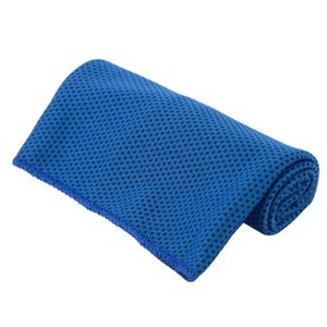 Ice Cold Towel Cooling Summer Sunstroke Sports Exercise Cool Quick Dry Soft Breathable Cooling Towel 10colors CCE1984