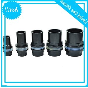 5 Stks batch Connector 20 25 32 40 50Mm Aquarium Water Joint Pvc Water-tight Connectors Watertank Fitting Pipe AT014