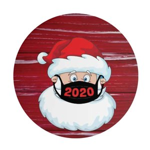 1pcs Merry Christmas Theme Sealing Sticker Diy Gifts Posted Baking Cute Decoration Package Label Multifunction 2020 yxltrw homes2007