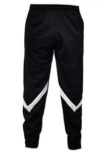 Erkek Tasarımcı Spor Pantolon Gençler Hiphop Pantolon Moda Casual Mans Giysi Rahat Çizgili Colorblock Parça Pantolon